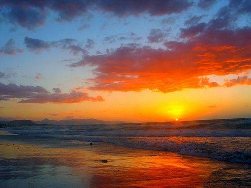 Crete Greece - sunset