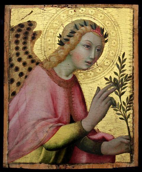 SILK ART IMAGE ~ RENAISSANCE ANGEL rose pink garment