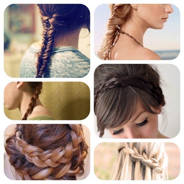 Hair Style Compilation : Braid compilation Hairstylin Pinterest