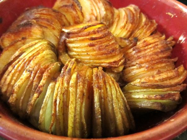 Smoky potato tian - lucysfriendlyfoods - check sherry vinegar for corn ...