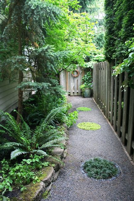 Narrow Backyard Design Ideas : Narrow side garden ideas  Plaashuis Tuinidees  Pinterest
