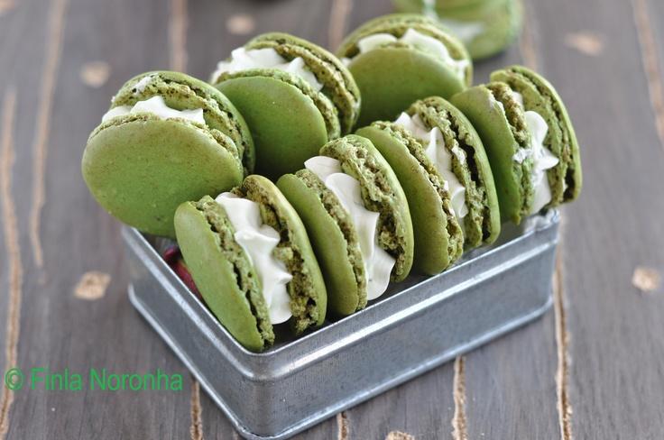 Cherry Cordial Macarons Recipe — Dishmaps