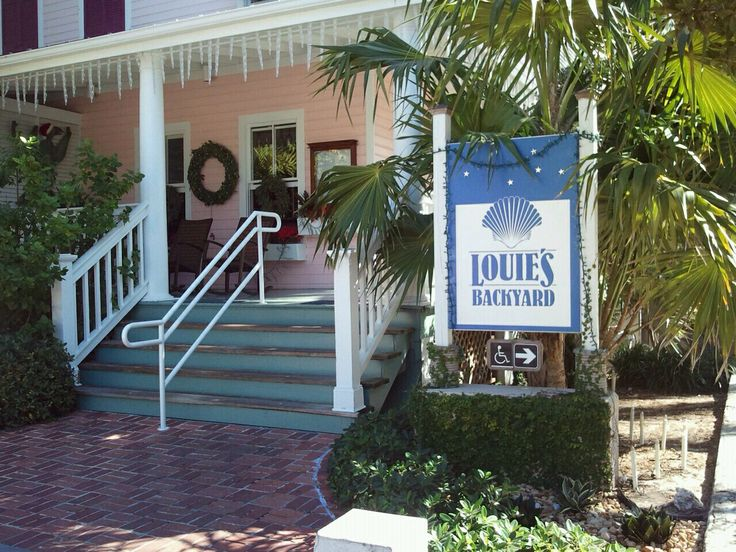 louie s backyard in key west favorite places spaces