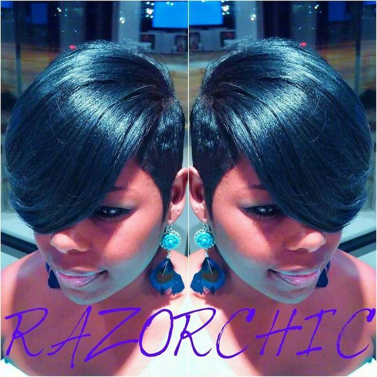 Jasmine Hairstyles For Short Hair : Razor Chic of Atlanta If I Ever Run Into Ms. Jasmine Collins, I Would ...