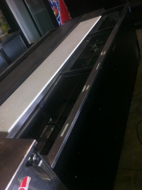 Used Sandwich Prep Table Refrigerated variety of used refrigerated prep tables awaits you at One Fat Frog ...