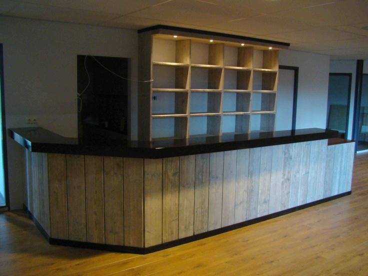 Wanden Van Steigerhout : Home Bar Fronts