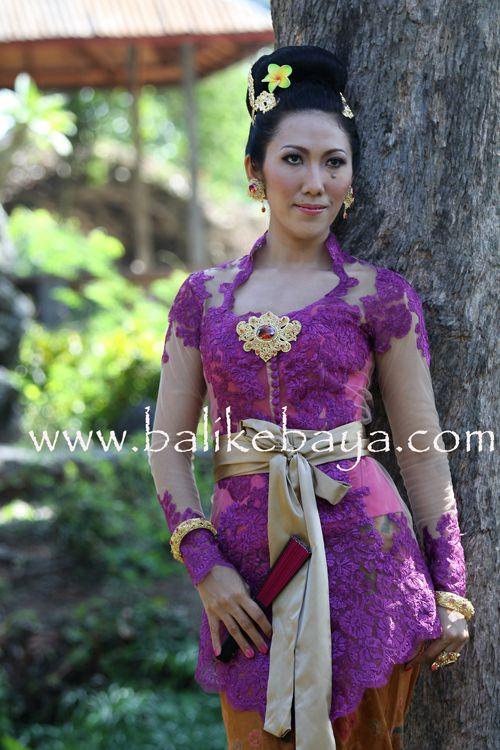 kebaya bali | Batik Indonesia | Pinterest