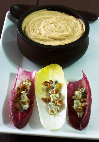 Endive and Blue Cheese | endive appetizers | Pinterest