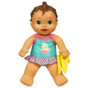 Baby alive first for me splash quot n giggle brunette by hasbro 37 99