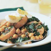 Chard, Potato, and Chickpea Stew: : Swiss chard, olive oil, potato ...