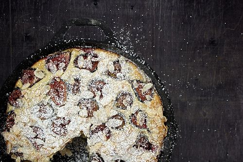 Fig and almond breakfast cake | yum | Pinterest