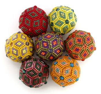 Beaded Beads by Jean Power