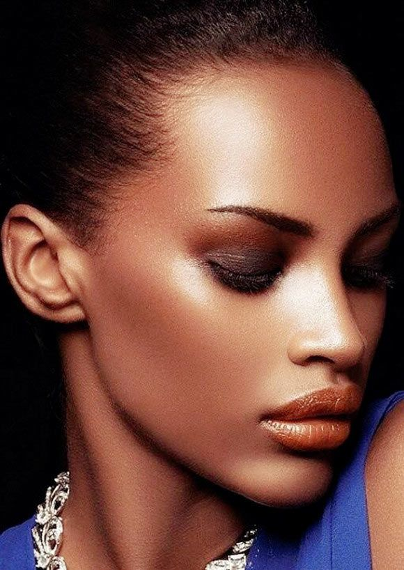 Wedding Makeup Tips For Dark Skin : bridal makeup for dark skin_???? - ??? beautiful Pinterest