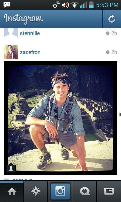 zac efron instagram | pictures | Pinterest Zacefron