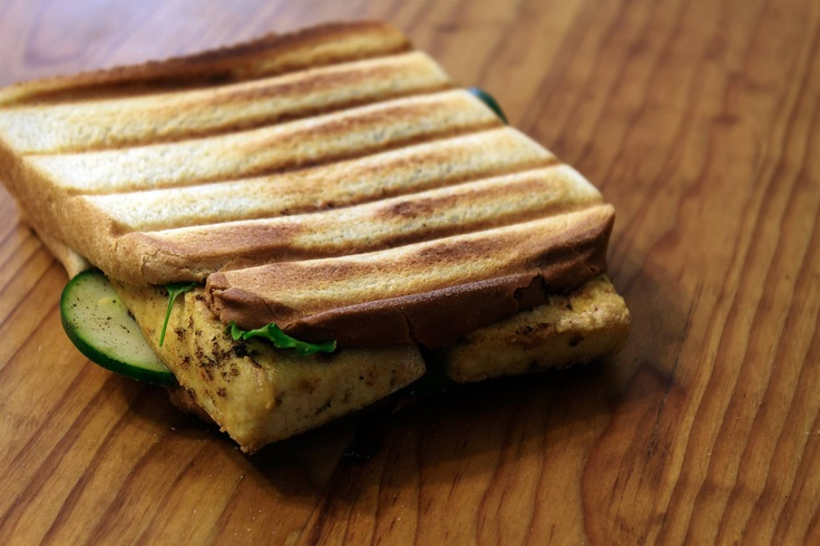 grilled tofu sandwich | Vegetarian Cooking | Pinterest