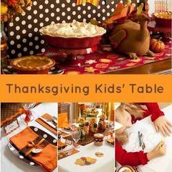 30 creative Thanksgiving kids' table ideas.