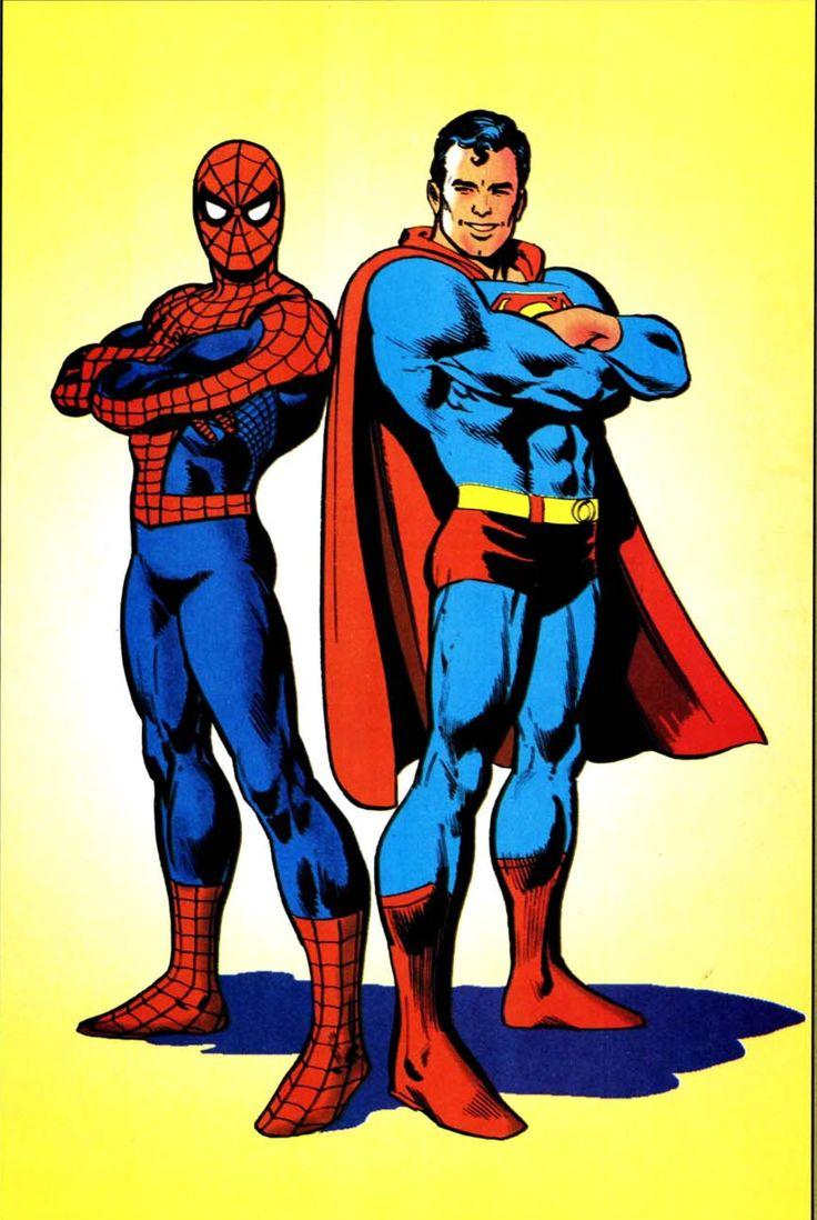 spider man superman - photo #7