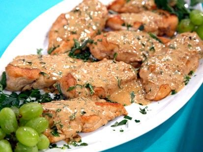 Chicken breasts with Dijon herb sauce | Healthy Foods | Pinterest