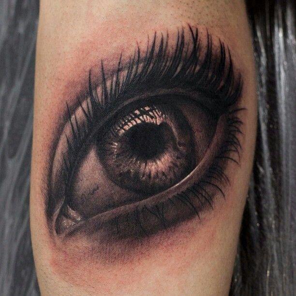 realistic eyeball tattoo designs the image kid has it. Black Bedroom Furniture Sets. Home Design Ideas