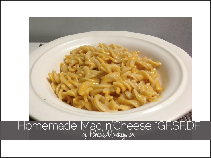 Most Delicious Mac n' Cheese *DF, GF, SF | Low FODMAPS recipes | Pint ...