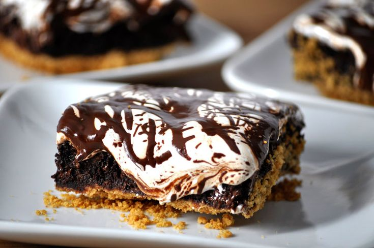 Mores Brownies | Good Enough to Eat | Pinterest