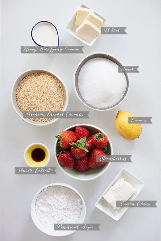 cheesecake ingredients for diy mason jar mini cheesecakes #diy #yummy ...
