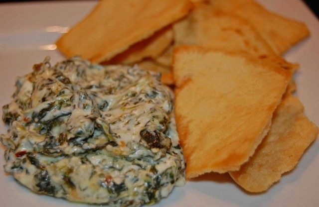 Hot Spinach Dip | Bon Appetit | Pinterest