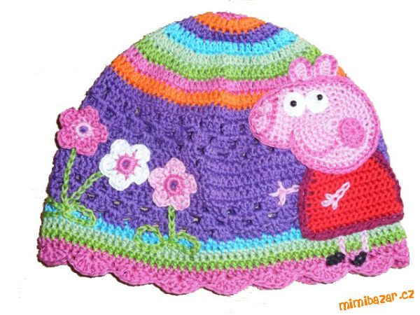 Free Crochet Pattern For Peppa Pig Hat ~ Pakbit for .