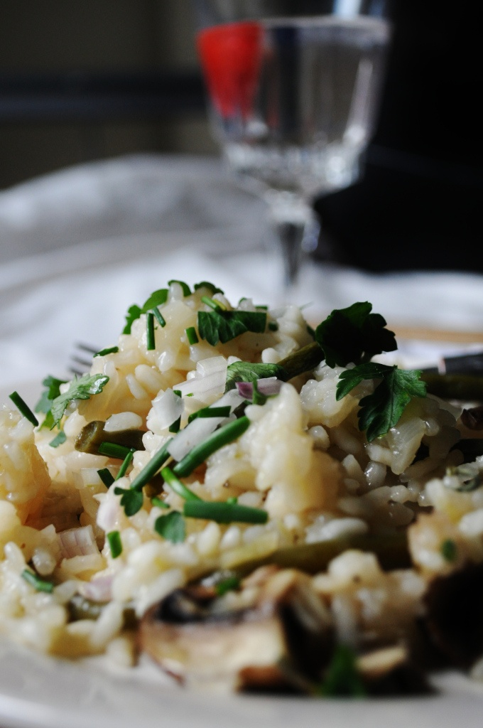 Baked Mushroom & Green Bean Risotto: I've never baked a risotto. Is i...