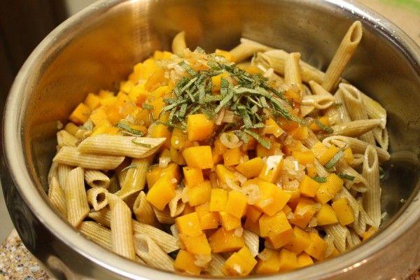 Butternut Squash Penne | Jewish Food | Pinterest