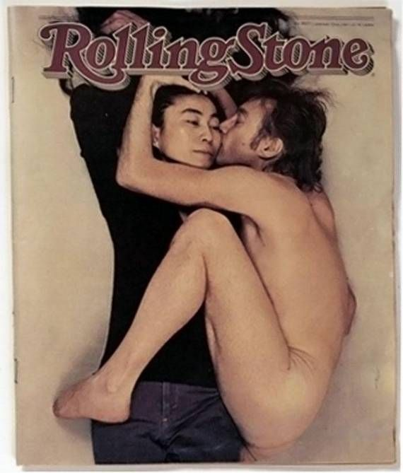Annie Leibowitz and Rolling Stone was a great pairing. Images like this were created, which became unforgettable magazine covers.