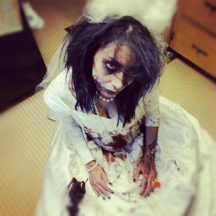 Zombie bride Prospective Halloween Costumes Pinterest