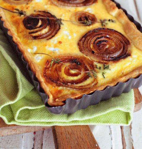 onion tart cheeseboard onion tart bbc good food creamy onion tart ...
