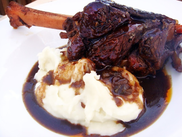 Happy Shanksgiving from The Dinner Club: Braised Lamb Shanks