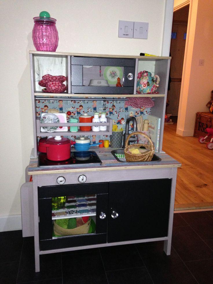 Ikea Duktig Kok Makeover : Ikea Duktig Play Kitchen makeover  Play kitchens  Pinterest