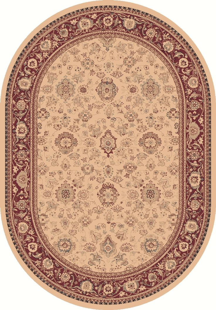 Dynamic Rugs Ancient Garden 53123 Ivory Area Rug