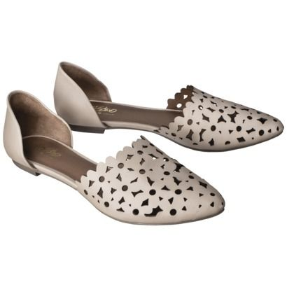 Target - Mossimo® Lainey Perforated Two-Piece Flats
