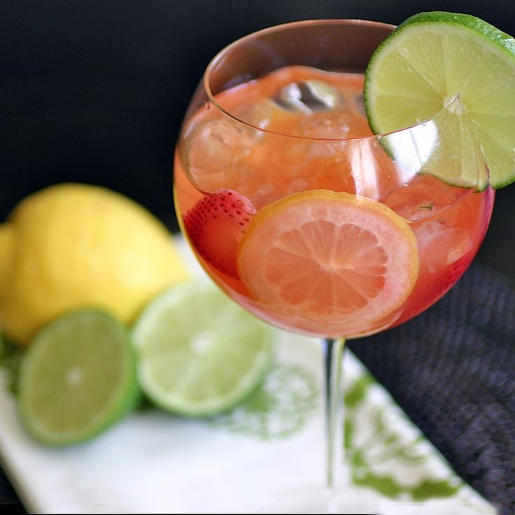 White Sangria | Coastal Cocktails | Pinterest