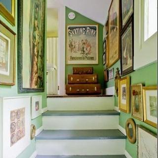 Green! Hallway