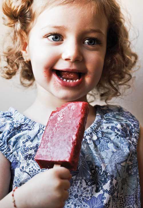 Strawberry Ice Pops | Recipe