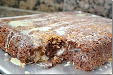 Upside down german chocolate cake | Cakes, Cupcakes, Cake Pops,Coffee ...