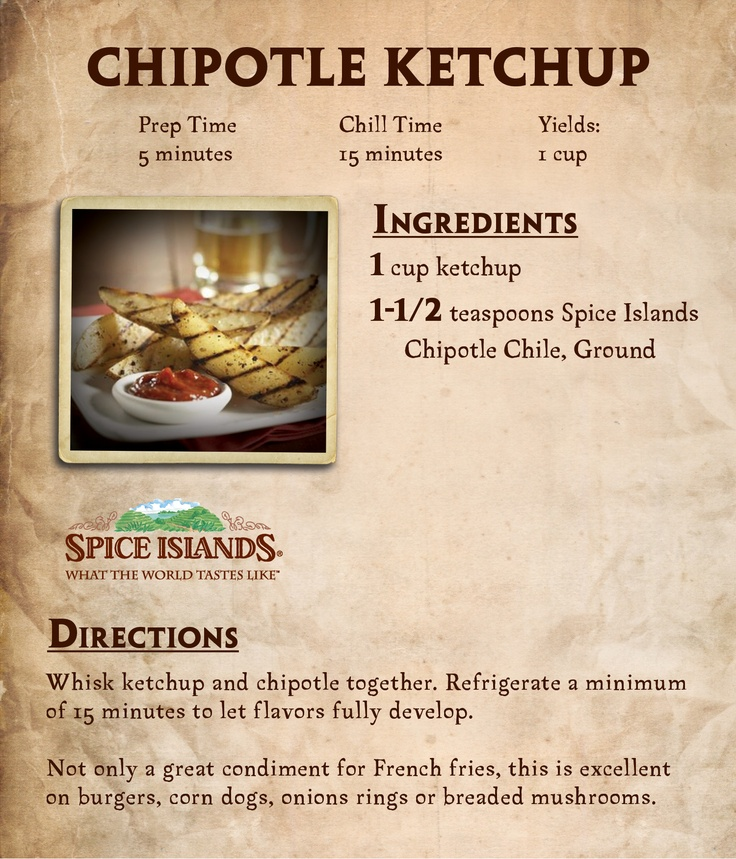 Spider Dogs With Chipotle Ketchup Recipes — Dishmaps