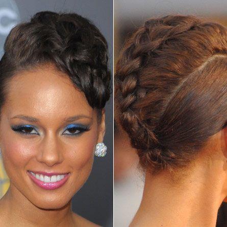 cute cornrow hairstyles : Cute natural braided hairstyle hair Pinterest