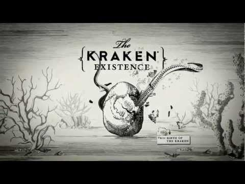 Totally ROCKIN' illustrated ad for Kraken Rum  via Kraken Rum at Behance