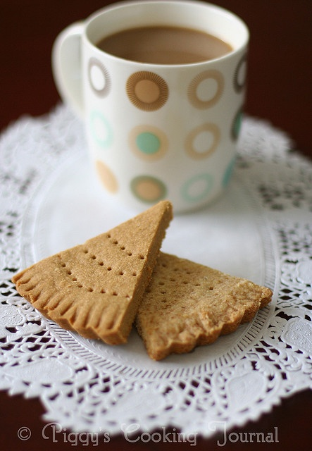 Coffee & Wheat Shortbread by Pig-gy, via Flickr