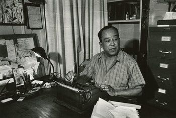 Langston Hughes by Louis Draper