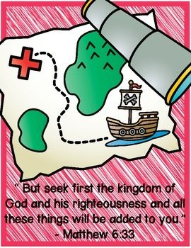 PIRATE BIBLE VERSE SET - TeachersPayTeachers.com