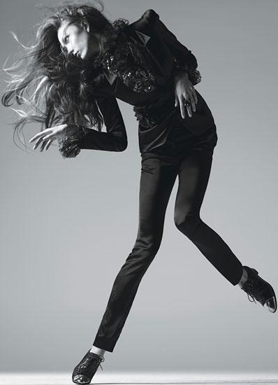 Karlie Kloss for July 2012 Wmagazine