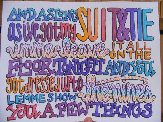 justin timberlake lyric like i love you: