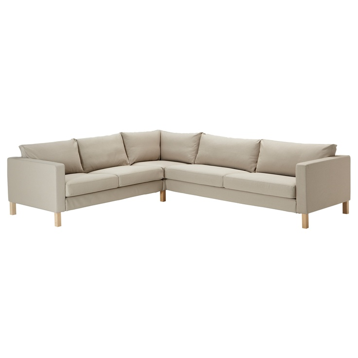 karlstad corner sofa 2 3 3 2 blekinge white. Black Bedroom Furniture Sets. Home Design Ideas